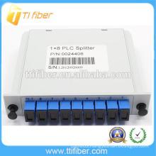 1*8 PLC SC/UPC fiber optic plc insert splitter