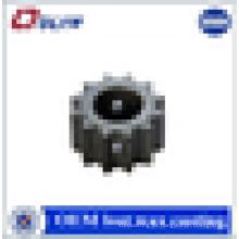 OEM de alta calidad de acero de carbono rueda de engranajes de piezas de fundición de cera perdida