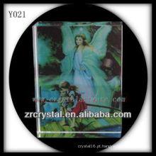 Cristal de foto colorida impressão Y021