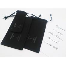 сумка на шнурке рекламная дешевая подарочная сумка