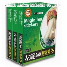 Etiquetas engomadas mágicas del té del adelgazamiento para la pérdida del peso