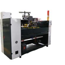 Double servo semi-automatic corrugated carton box stitching machine