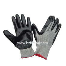 Hppe Liner Coated Nitril Cut Resistant Mechanix Handschuhe Wok Handschuh