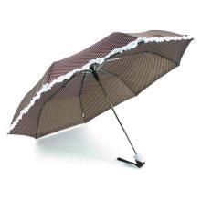 3 Fold Auto Open&Close Windproof Skirt Umbrella (YS-3FD5280R)