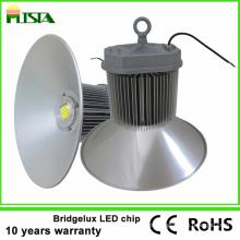 Lâmpada alta alta da baía do diodo emissor de luz 150W da chegada nova com microplaqueta de Bridgelux