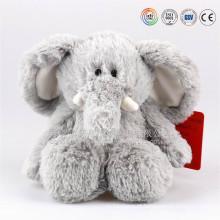 Venda quente ICTI auditorias OEM / ODM fabricante de pelúcia e recheado de elefante brinquedos com orelhas grandes