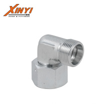 90o Elbow Reducer Tube Adaptor with Swivel Nut  Adapter