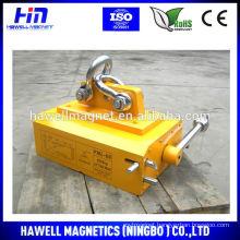 Permanent magnetic PML 6000kg to lift 6 ton metal cargo