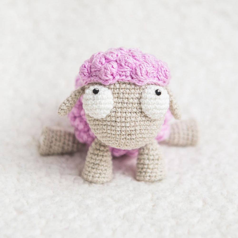 8 3 Crochet Sheep Amigurumi