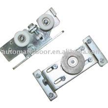 Smooth nylon roller hanger of automatic door