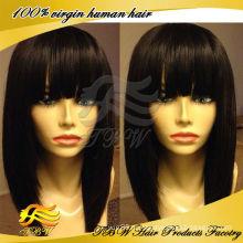 Бразильский короткий Боб парик человеческих волос glueless кружева передние парики для чернокожих женщин