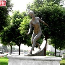 2016 Neue Bronzefigur Skulptur Bronze Porträt Skulptur Für Outdoor