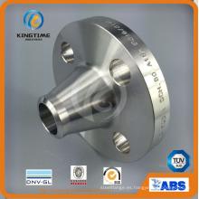 Brida forjada Wn del reborde F316 / 316L del acero inoxidable a ASME B16.5 (KT0341)