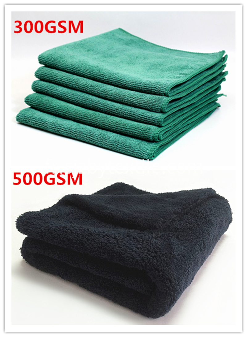 400gsm car washing towel