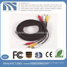 Performance 1.5m 3 RCA to 3 RCA Audio Video AV Cable Male to Male