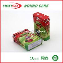 HENSO Waterproof Sterile Tin Box Custom Printed Band Aid