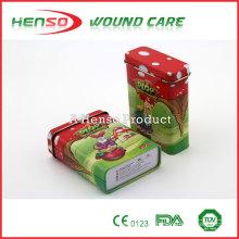 HENSO Waterproof Sterily Tin Box Custom Impresso Band Aid