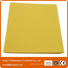 Viscose Lint Free Needle Punched Nonwoven Fabric Cleaning Cloth