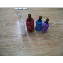 Cheap Disposable Colorful EPE Foam Glass Bottle Sleeve Made in China