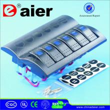 6 Breakers LED Switch Panel 12V/24V