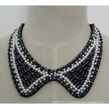 Мода ювелирные изделия жемчужное ожерелье Кристалл колье (JE0056-1)