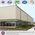 Centro de serviço pré-fabricado de caminhão de estrutura de aço