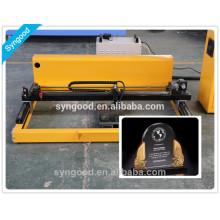 Machine de gravure et de découpe au laser Syngood SG6090-Spécial pour les accessoires de la pierre tombale