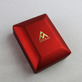 Glossy Red LED Light Pendant Necklace Box