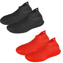 Cubiertas de zapatos impermeables de silicona reutilizables