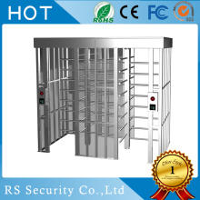 Single Column Fitness Center Full Height Turnstile
