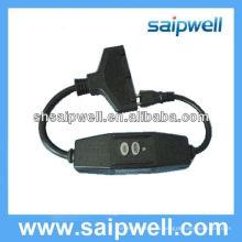 Горячая распродажа выключатель безопасности вилка 120 В 220 В 15A 20A