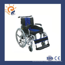 Foldable electric wheelchair with lithium battery