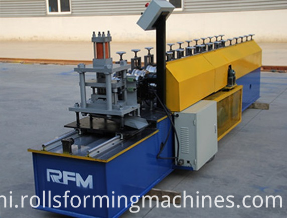 Steel Shutter Door Slide Making Machine