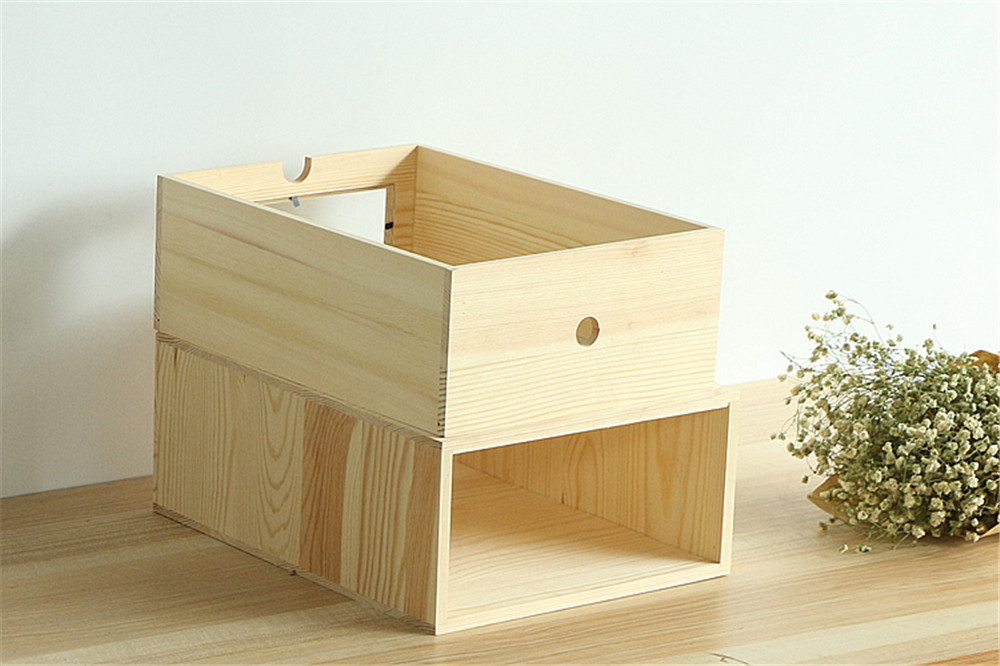 office wooden container