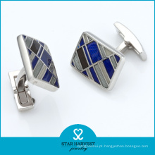 Moda prata esterlina abotoaduras (SH-BC0013)