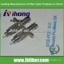 ST hembra FC macho Adaptador de fibra dúplex