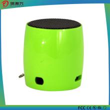 Mini altavoz de sonido Bluetooth inalámbrico portátil con cubierta metálica