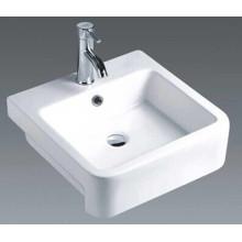 Casa de banho cerâmica quadrada bancada bacia (7089A)