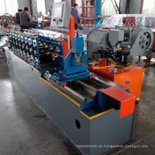 China fabricante xinnuo venta caliente luz quilla de acero t barra t-grid techo t rejilla rollo que forma la máquina