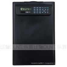 Calculatrice de presse-papiers multifonction Dual Power de 2 chiffres avec règle (LC633B)