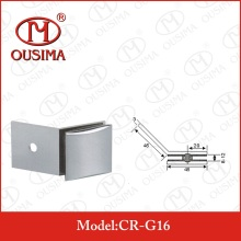 SUS304 Arc-Shaped 90 Degree Bathroom Glass Fixing Clip