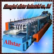 galvanized steel ladder cable tray roll forming machine