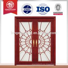 Puerta corredera de cristal templado para balcón