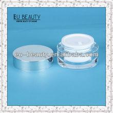 50g Acrylic jars with Aluminum lid
