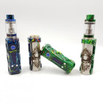 Voltage control DNA75 chip resin vape mod kit