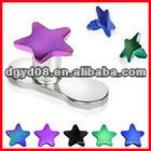 2013 mode en acier inoxydable peau dermique bijoux de corps piercing (WS3660)
