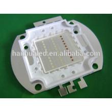 Potencia 30W RGB led con paquete de mazorca, chip bridgeLux