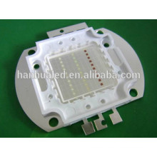 30W RGB power led with cob package, bridgeLux chip