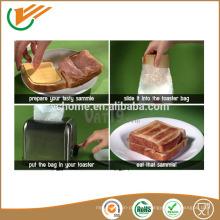 Легкий в использовании пакет из 4 многоразовых тостеров для тостов Тосты для сэндвич-пакетов