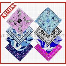 Unisex Fashion 100% Cotton Square Promotion Bandana